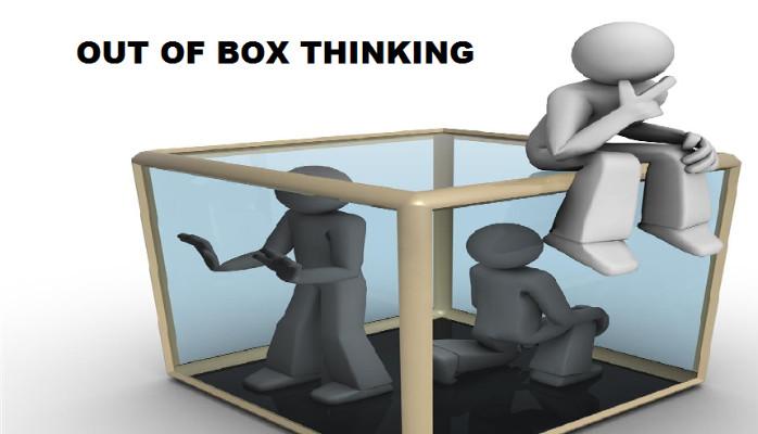 Out of the box – nghĩ khác – Suy nghĩ một cách sáng tạo