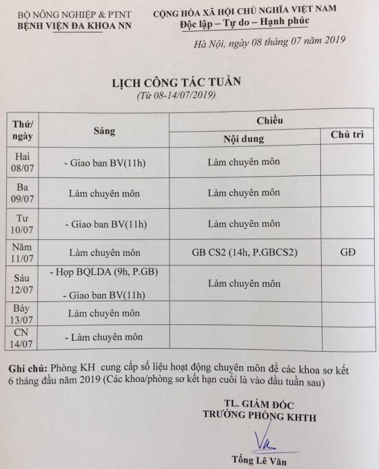 lich tuan 08-7-2019 ban uo