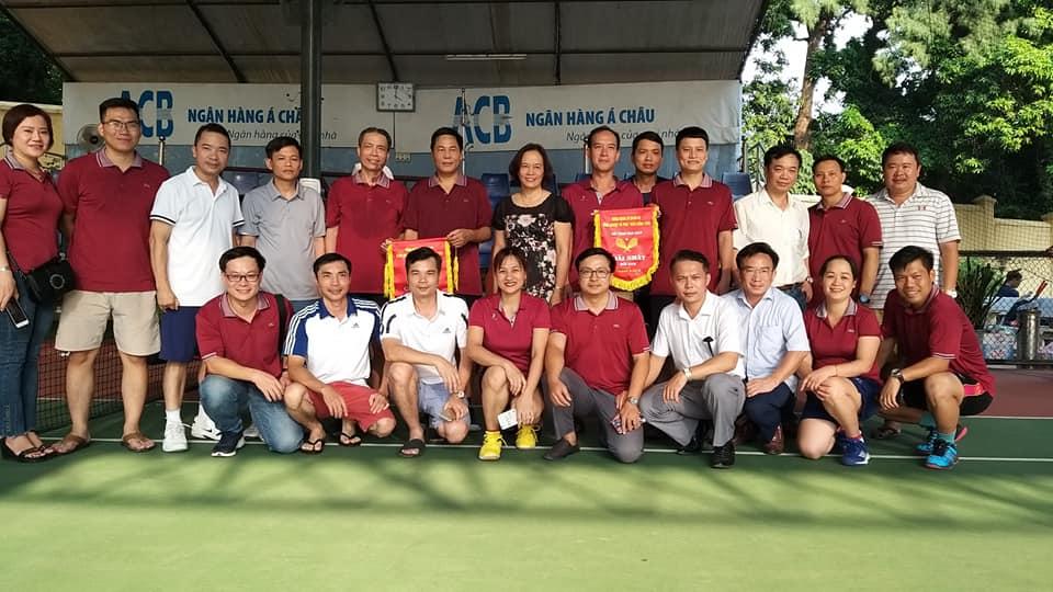 BVĐK Nông nghiệp tham gia Hội Thao cán bộ, công chức, viên chức lao động khối cơ quan bộ năm 2019 đạt thành tích nhất toàn đoàn