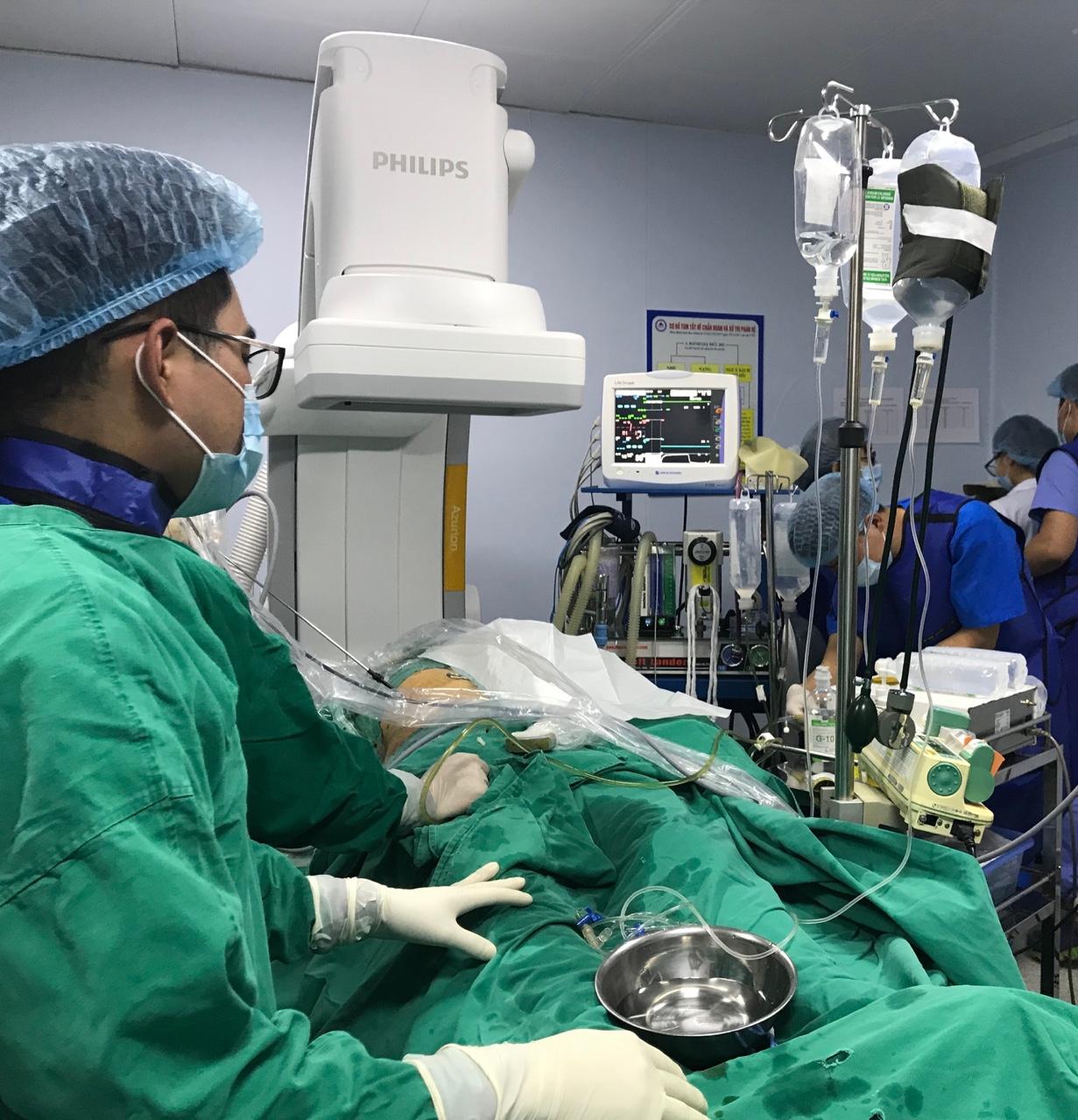 Điều trị U gan ác tính bằng phương pháp Nút mạch U gan số hóa xóa nền tại Bệnh viện đa khoa Nông nghiệp
