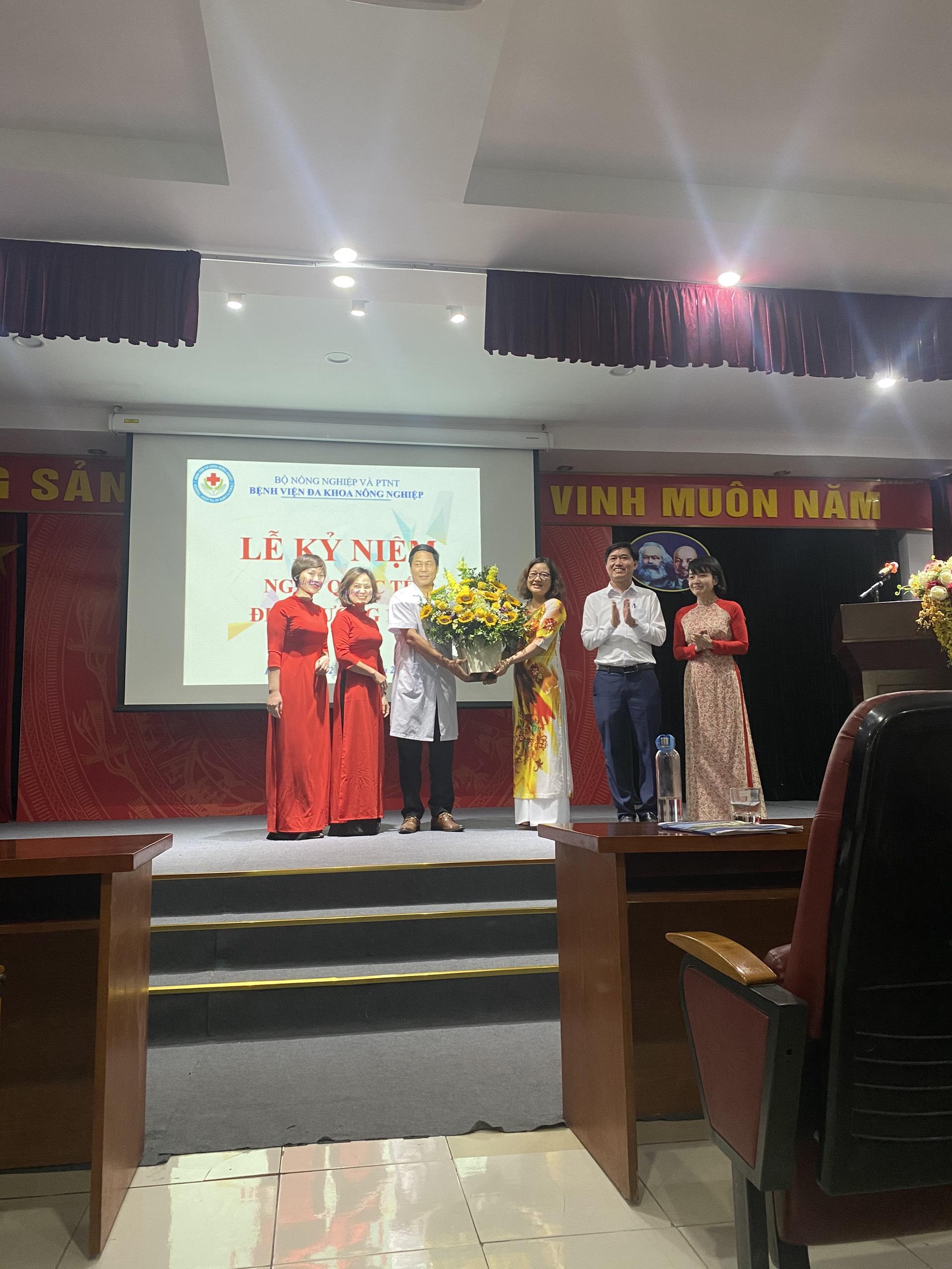 Chi hội điều dưỡng BVĐK Nông nghiệp tổ chức lễ kỷ niệm ngày quốc tế điều dưỡng 12/05 và kỷ niệm 30 năm thành lập Hội điều dưỡng Việt Nam