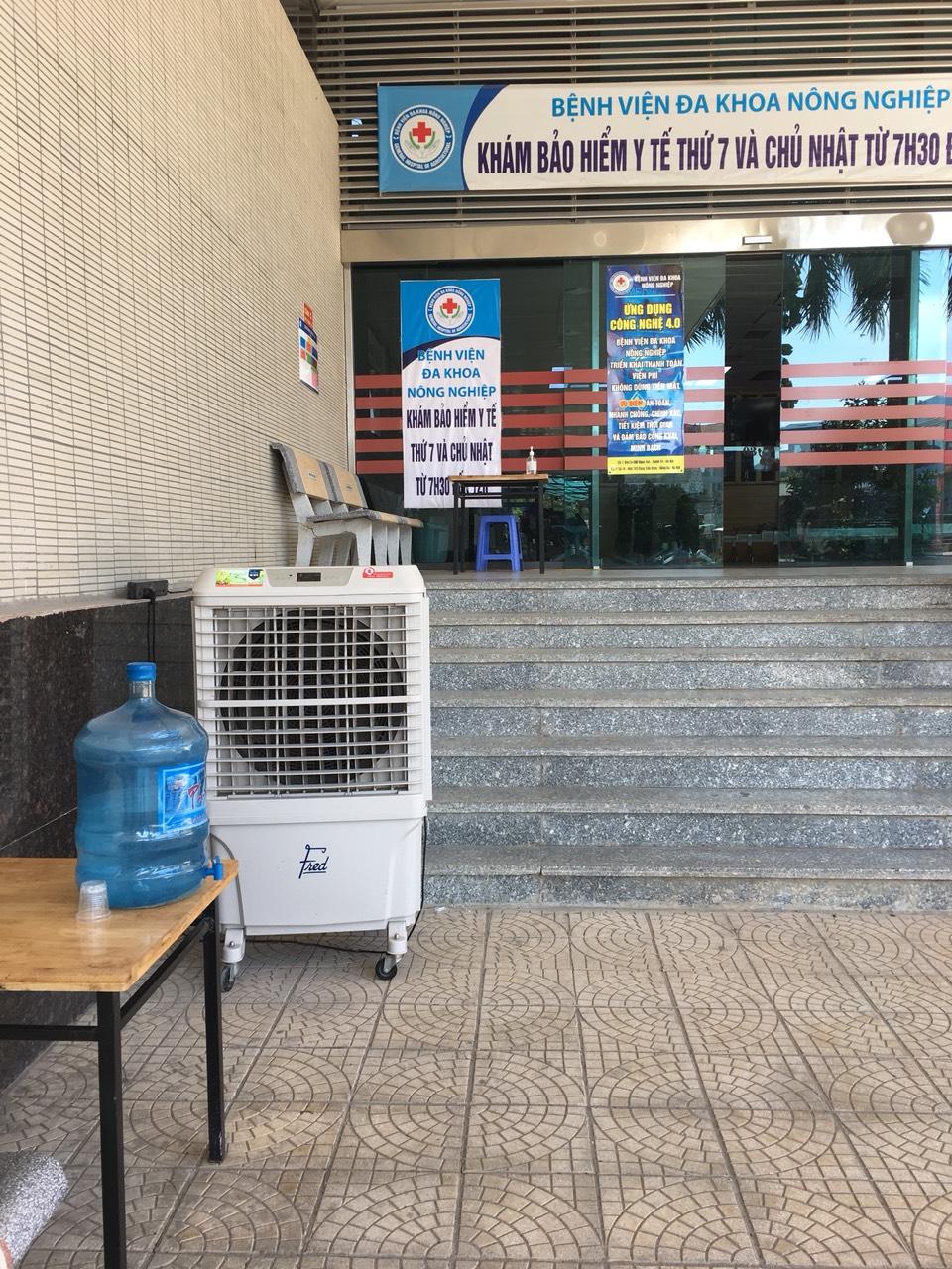 Bệnh viện chủ động phòng chống nắng nóng cho bệnh nhân