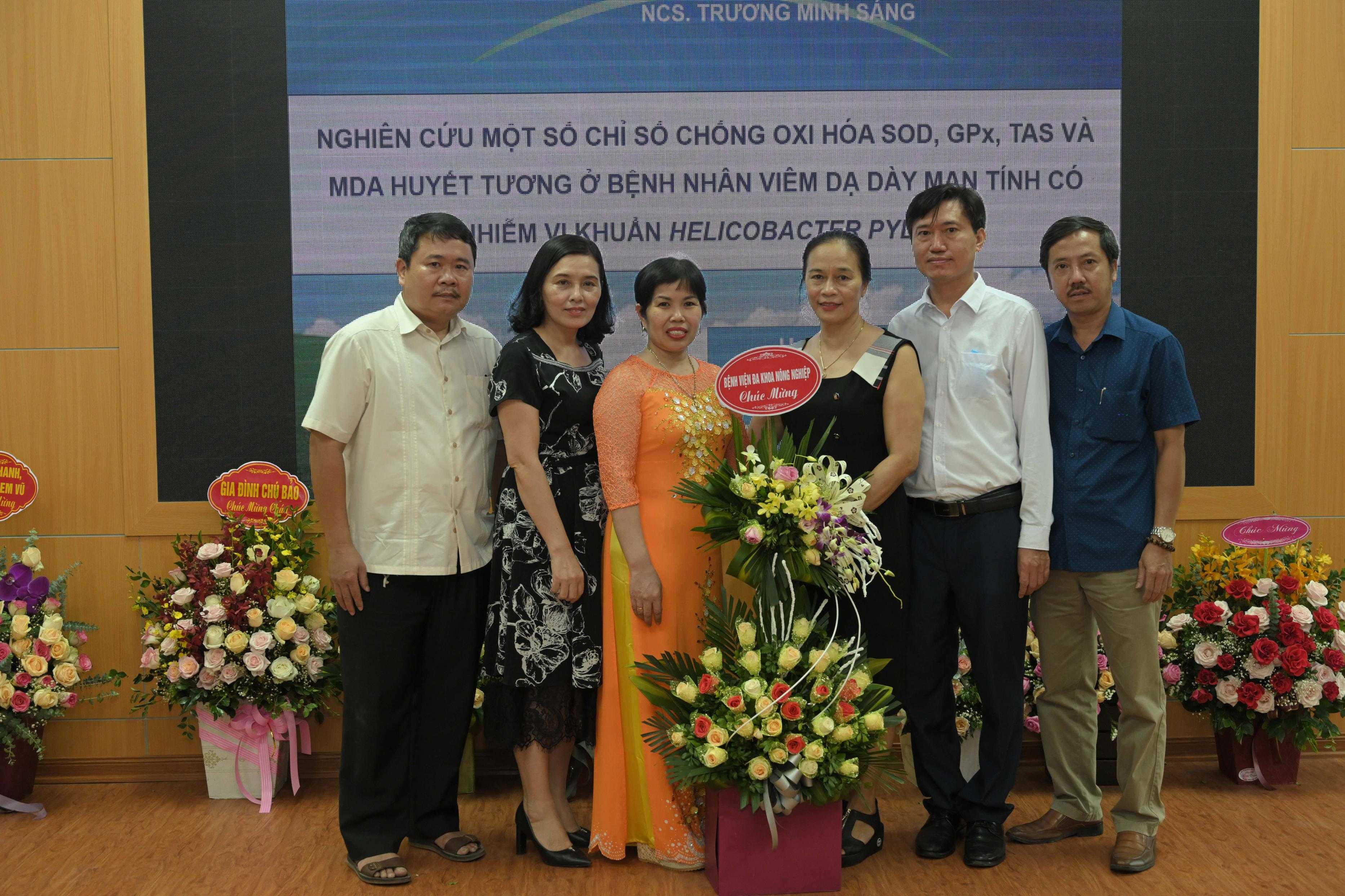 Chúc mừng NCS BS. Trương Minh Sáng bảo vệ thành công luận án Tiến sĩ